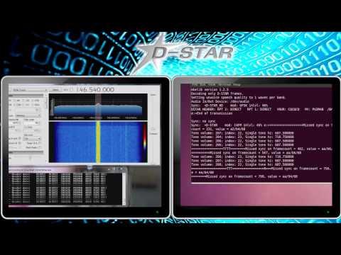 Decodificando Dados e Voz da tecnologia D-STAR sem utilizar DV Dongle