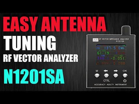 Easily Check Your Antennas Tuning - VNA N1201SA / PS100