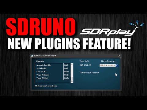 SDRPlay SDRuno Plugins Feature - NEW!