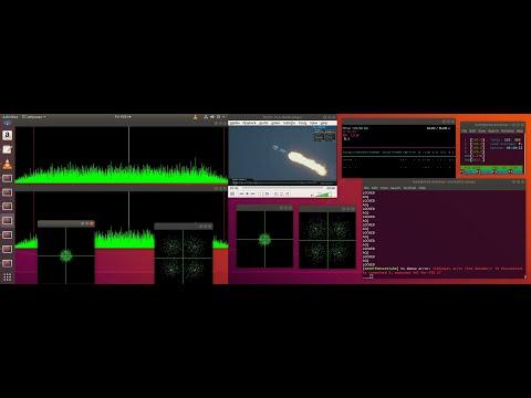 QO-100 Realtime Live DVB-S2 Decoding