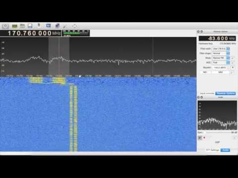 Traffic Lights + GNU Radio + RTL SDR