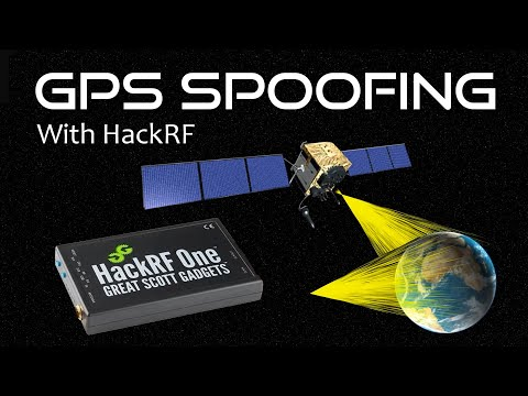 GPS Spoofing With The HackRF On Windows