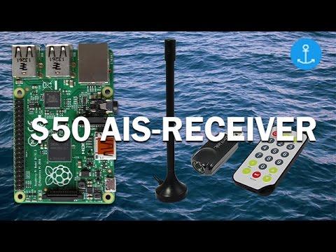 $50 Raspberry Pi AIS-Receiver - How to