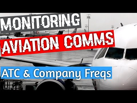 Monitoring En Route Air Traffic Control, Oceanic Clearances, and Company Frequencies