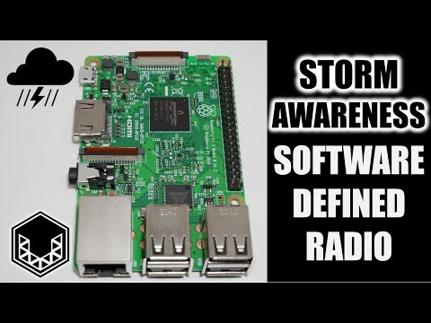 Storm Monitoring with Software Defined Radio