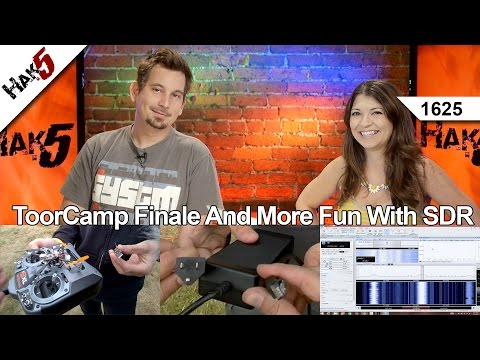 ToorCamp Finale And More Fun With SDR, Hak5 1625