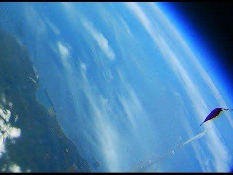 Tracking J43VHF (Radio Amateur Stratosphere Balloon) by RTL-SDR & Diamond Discone D3000N Antenna