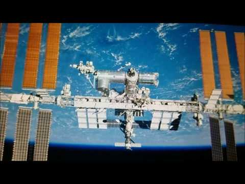 Thomas N1SPY receives SSTV signals from the ISS