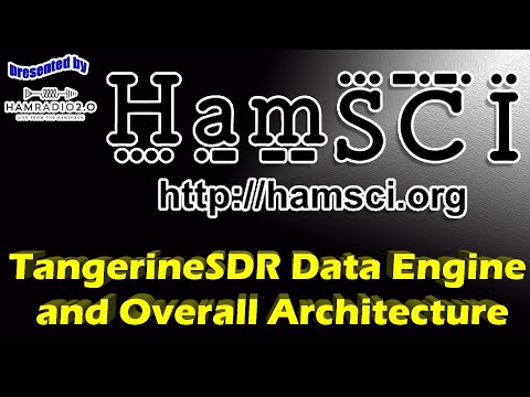 HamSCI 2020 TangerineSDR Data Engine and Overall Architecture
