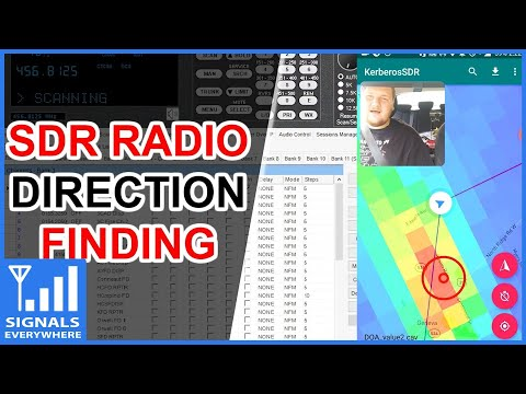Direction Finding With Kerberos SDR
