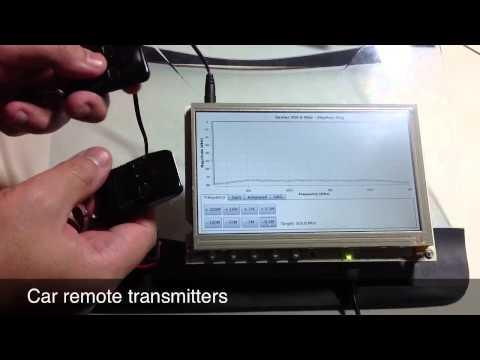Spectrum Analyzer using Beaglebone Black and RTL-SDR