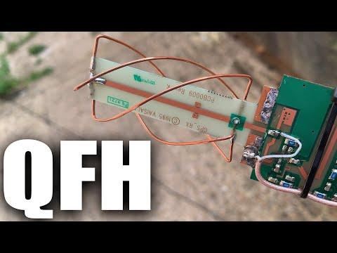 Testing A QFH Antenna For Inmarsat And Iridium