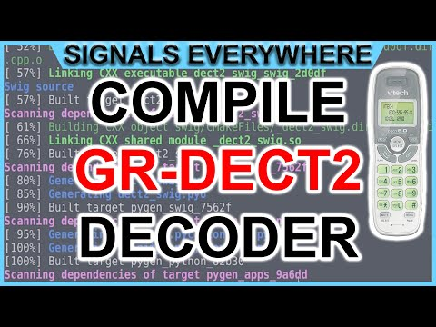 DECT 6.0 Cordless Phone Eavesdropping {Install GR-DECT2 and Decode with HackRF SDR} or E4000 RTL SDR