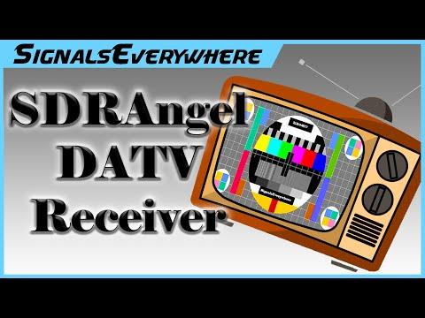 RTL SDR HackRF ETC Decoding DVB-S DATV on Windows with SDRAngel