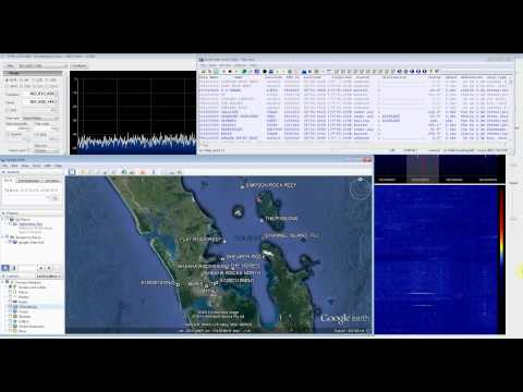 AIS Ship Position Second Attempt with RTL SDR (RTL2832), SDR Sharp and ShipPlotter