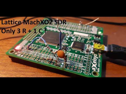 FPGA + 3 R + 1 C = Medium and Long Wave SDR Receiver.