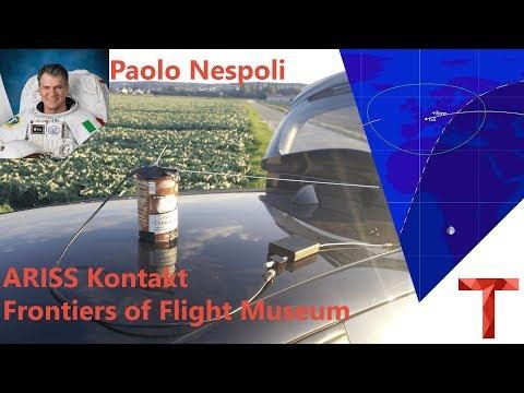 Paolo Nespoli ARISS Kontakt mit FOFM / Moon Day - 5. August 2017
