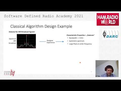 SDRA2021 -12- Stefan Scholl, DC9ST: Classification of shortwave radio signals with deep learning