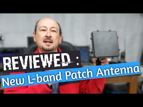 RTL-SDR updated L-band patch antenna review - perfect for your SDR radio!