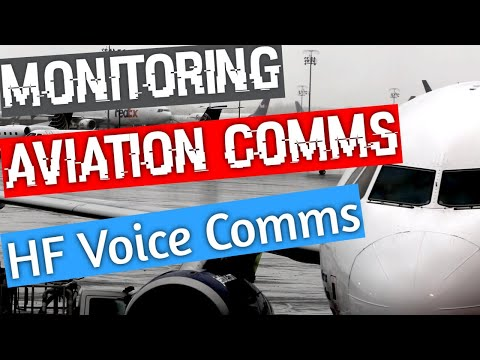 Monitoring HF Aviation Voice Communications with your SDR Radio or a WebSDR