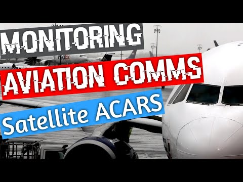 How To Decode L band Satellite ACARS and CPDLC messages with JAERO and your SDR