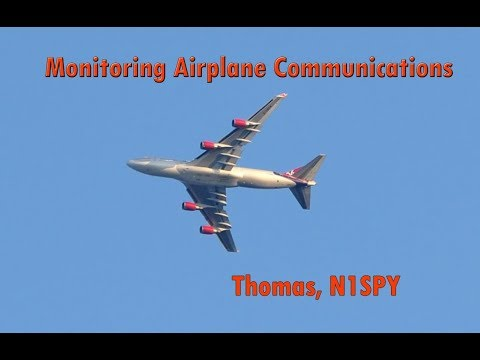 Monitoring airplane communications (aviation radio signal monitoring via sdr)