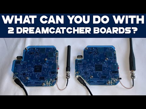 What can you do with two Othernet Dreamcatcher Boards?
