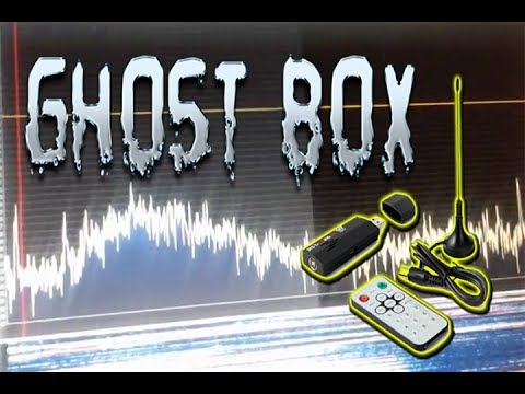 Software Defined Radio (SDR) Ghost BOX