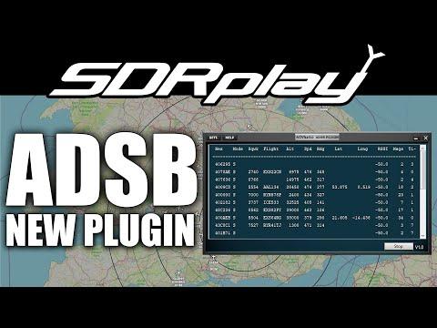 SDRPLAY SDRUno ADSB Plugin - Tracking Aircraft Easy