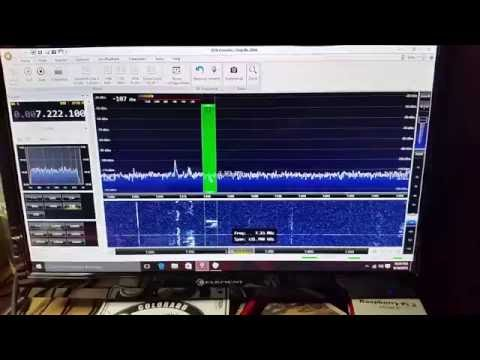 The LimeSDR on 40m Phone using SDRConsole V3.0