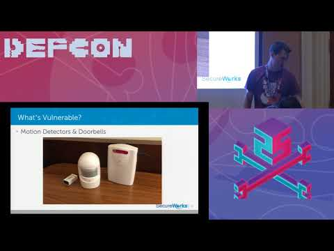 DEF CON 25 Wifi Village - Eric Escobar - SecureWorks: SDR Replay Attacks On Home Security Systems