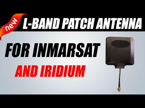 RTL-SDR Active L-Band Patch Antenna For Inmarsat / Iridium / GPS