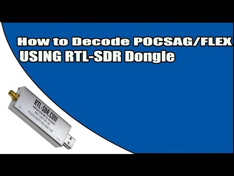 How to Decode POCSAG & FLEX using an RTL-SDR Dongle