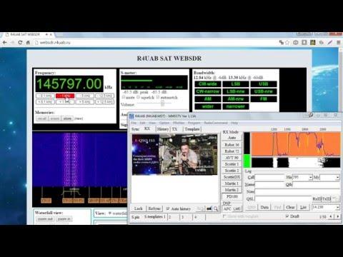 ISS SSTV R4UAB WEBSDR 12.04.2016 14:00 UTC