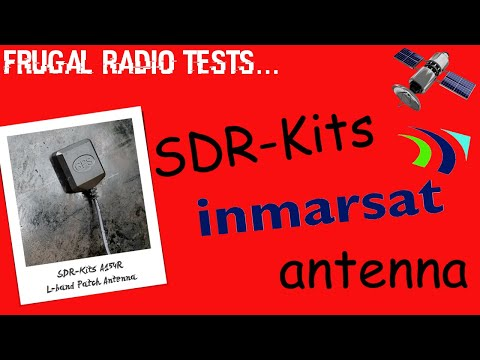 SDR-Kits frugal L-band Inmarsat patch antenna review decoding CPDLC ADS-C with RTL-SDR v3 dongle!