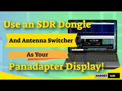 SDR Panadapter Using an Antenna Switcher