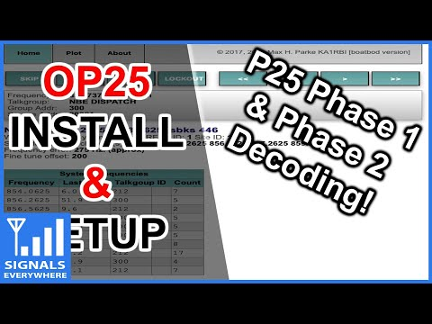 OP25 Installation and Configuration Tutorial | Setup OP25 P25 Phase 1 and 2 SDR Decoder on Linux Pi