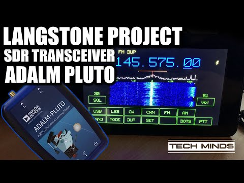Langstone Project - SDR Transceiver using an Adalm PlutoSDR