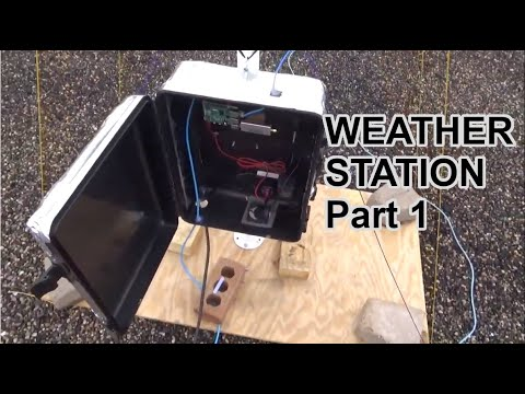 Automated Home Weather Station (Satellite Image Collector)