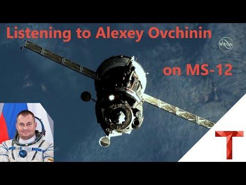 [EN subs] Empfang von Cosmonaut Alexey Ovchinin im Soyuz MS-12