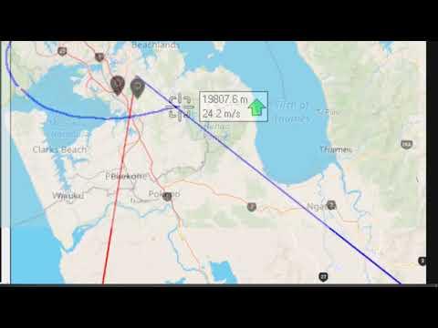 KerberosSDR Tracking a Weather Balloon Radiosonde with Radio Direction Finding