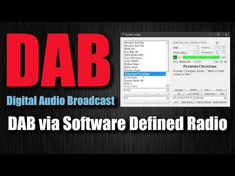 DAB Radio Decoder For SDR (RTL_SDR - HACKRF - AIRSPY)