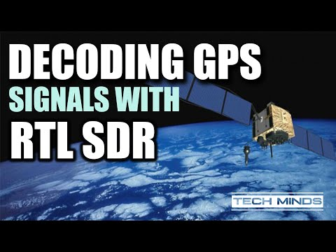 Decoding GPS using an RTL SDR Receiver