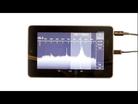 SDR Touch - Live radio on your Android device