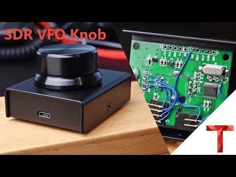 [EN subs] VFO Knopf für SDRs aus einem Lautstärkeregler