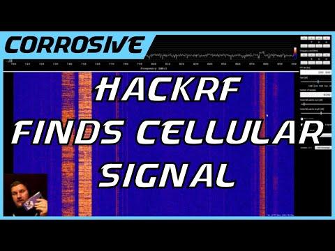 Locating Cellular Signal with HackRF Spectrum Analyzer SDR Software