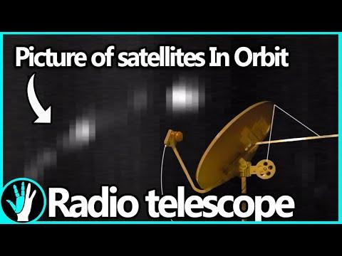 How to Build a Radio Telescope (See Satellites 35,000km Away!)