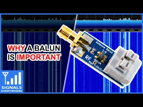 SDR Nooelec 1:9 Balun   Why Impedance Matters in Radio