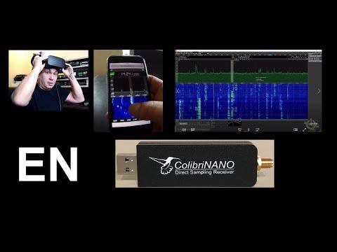 The ColibriNANO SDR receiver review (English version)