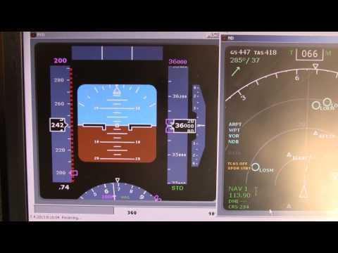 RTL1090 ADSB live on board Boeing 737-800